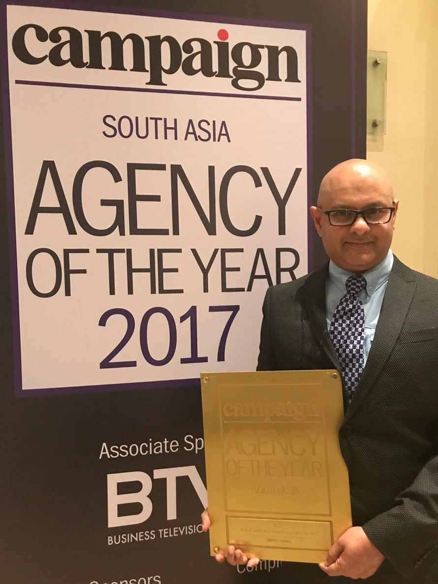 BBDO Lanka wins a Rest of South Asia Creative Agency of the Year award for third time