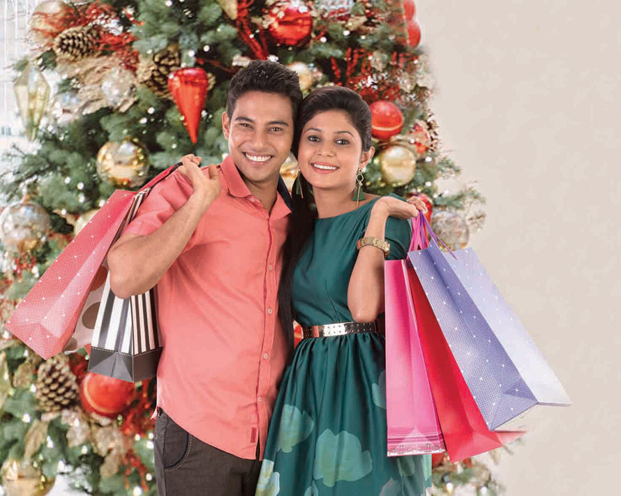Festive cheer with discounts up to 55 from top brands for COMBANK Credit Debit card holders