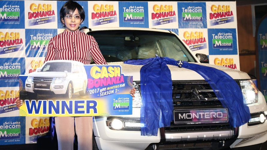 October 2017 Winner for Season 2 of Mobitel s Cash Bonanza Montero Extravaganza drives away with a brand new Montero