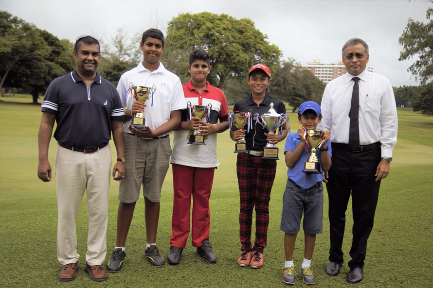 NDB Private Wealth Junior Masters Golf Championship 2018 on August 8