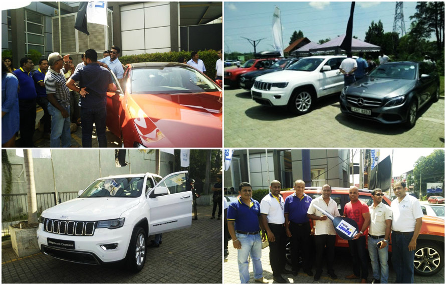 DIMO invites Sri Lanka to get behind the wheel at the HNB Mercedes Benz and Jeep Test Drive Days
