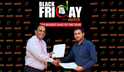 HUTCH powers daraz.lk 'Black Friday' online shopping event