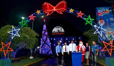 Arpico lights up in typical style for Christmas