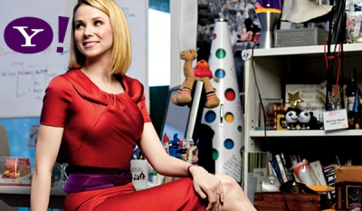 "Mobile, social, native and video lead the way in returning Yahoo to ""iconic greatness"", says Marissa Mayer"