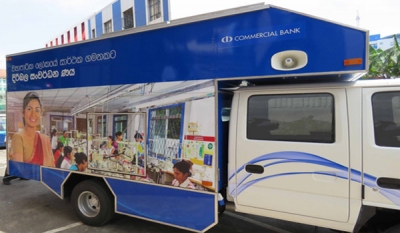 Commercial Bank launches 'Bank on Wheels'