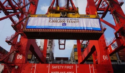 CICT surpasses 2 million teu milestone in second full year of operation