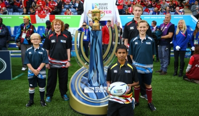 DHL delivers Rugby World Cup 2015 dream to fourteen-year-old rugby player in Sri Lanka