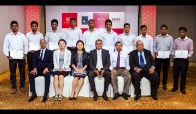 Kia Motors (Lanka) supports training at Technical Colleges