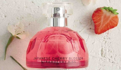 Capturing The Delicate Scent of Cherry Blossom : The Body Shop Introduces New Range For Valentine's Day