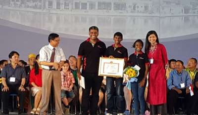 Revelations Academy makes history - first time a Children's Choir from Sri Lanka wins Gold at an International Competition