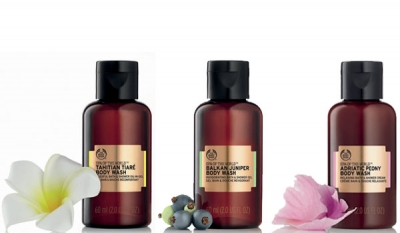 A trio of formulas to complement The Body Shop bath rituals this new year
