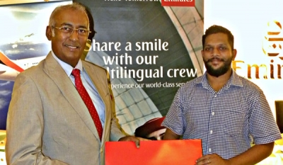 Sri Lankan wins holiday for two in Dubai from Emirates