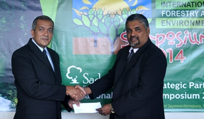 Sadaharitha The Proud Strategic Partner of International Forestry and Environment Symposium - 2014