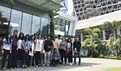 Architecture students from Amity University Dubai visit Altair