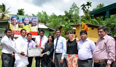 First green pre-school in Sri Lanka constructed by Holcim Lanka