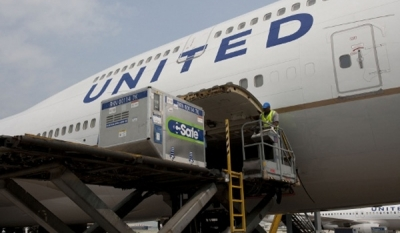 United latest carrier to restrict lithium batteries