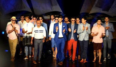 Hameedia showcases its collection at HSBC CFW Resort Show 2014