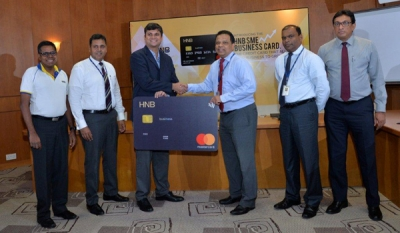 HNB paves the way for entrepreneurial growth with launch of new Business card