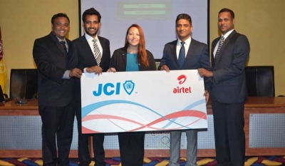 Airtel engages with JCI to support Sri Lankan youth