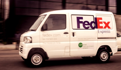 FedEx launches first all electric delivery vehicle in Sri Lanka