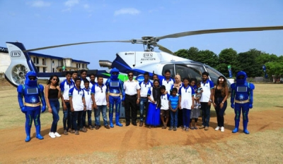 Helicopter Tour for Mobitel 4G Customers