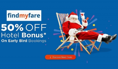 Findmyfare.com unveils 'Flight+Hotel' bookings, adding even more savings