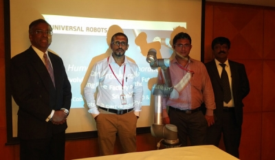 'Cobots' by Universal Robots to boost industrial productivity in Sri Lanka