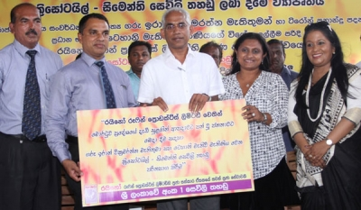 Rhino Roofing Products Ltd donates Chrysotile Cement Roofing sheets to victims of Gale-Force winds in Moratuwa