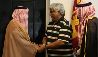 Saudi Prince assures Petroleum Minister Arjuna to assist in oil refinery sector in Sri Lanka ( 08 photos )