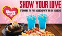Share the Love Set at The Manhattan FISH MARKET this Valentine's Week