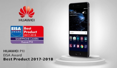 Huawei Wins New Plaudits from EISA Awards for the HUAWEI P10