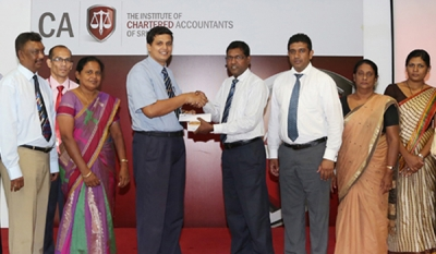 CA Sri Lanka Staff Welfare Society makes financial donation to the Maharagama Cancer Hospital
