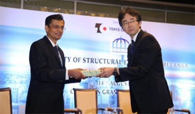 Dr. Shingo Asamoto Keynote Speaker at Society of Structural Engineers Sri Lanka Annual Sessions 2018