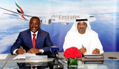 Emirates and the Republic of Angola announce strategic airline partnership in respect of TAAG Linhas Aéreas De Angola