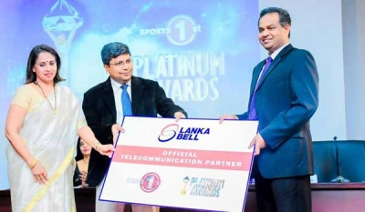 Lanka Bell joins 'Sports 1st Platinum Awards' as Official Telecommunication Partner
