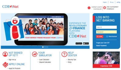 CDB's pioneering e-finance platform CDBiNet launched