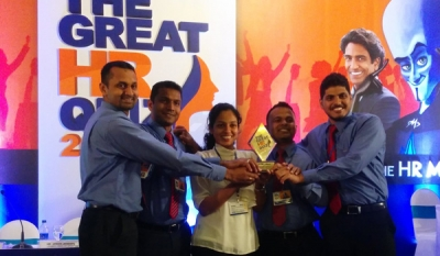 Holcim Lanka retains Manufacturing/ FMCG sector title win at the IPM 'Great HR Quiz 2015' for the 2nd consecutive year