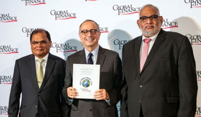 Commercial Bank honoured in USA & Hong Kong