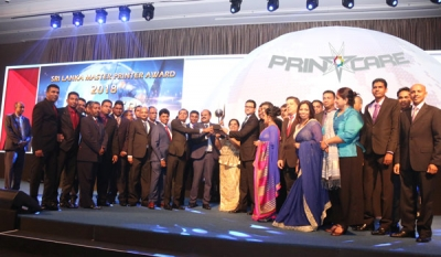 Printcare Clinches Coveted 'Sri Lanka Master Printer 2018'