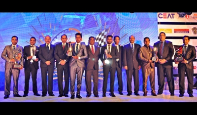 CEAT Racing takes 3 of the 4 top motor racing championships of the year