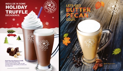 It's a Nutty, Minty Christmas at The Coffee Bean and Tea Leaf