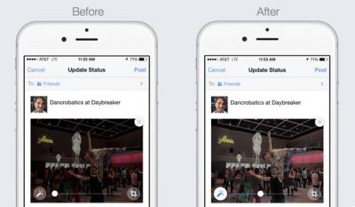 Facebook begins auto-enhancing user photos