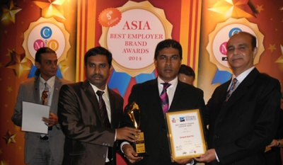 Sampath Bank wins prestigious CSR Award at ASIA Responsible Business Excellence Awards 2014