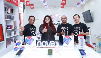 Huawei achieves a milestone with record-breaking sales for nova3 series in first hour