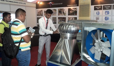 Sirocco Air Technologies stall at Construction Expo 2017 a 'resounding success'