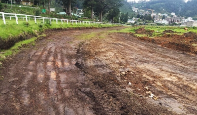 Royal Turf Club Nuwara Eliya Commences Work on New Sand Track