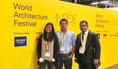 AkzoNobel sends top Sri Lankan talent to the World Architecture Festival in Berlin