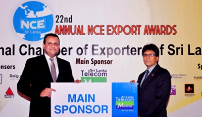Mobitel, the main sponsor of the 22nd Annual National Chamber of Exporters Awards
