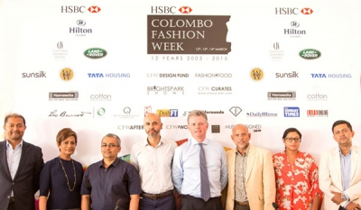 HSBC Colombo Fashion Week 2015 to focus on international promotion of Sri Lankan designers