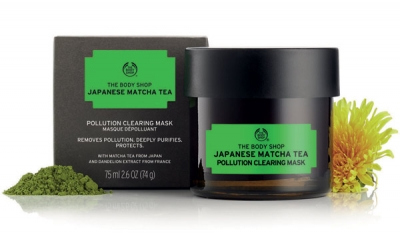A Matcha-Match for Tired Skin: new pollution clearing mask from The Body Shop in stores